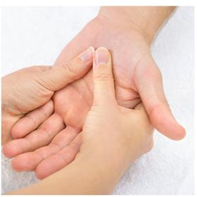 Zoneterapi håndreflekszoner